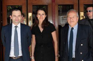Benoît Hamon, Aurélie Filippetti et Mélissa Theuriau