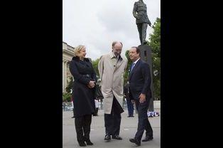 Avec Yves de Gaulle, le petit-fils du général