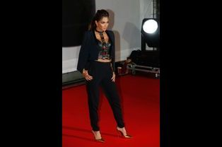 Aux Brit Awards à Londres, en février 2014