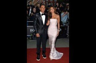 Lewis Hamilton et Nicole Scherzinger aux GQ Awards de Londres, le 2 septembre dernier