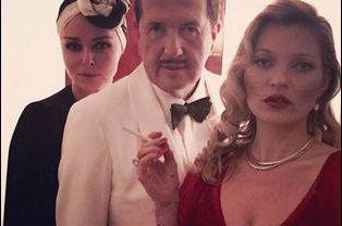Stella McCartney, Mario Testino et Kate Moss à la mode des années folles