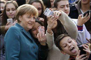 Angela Merkel en mars 2014 à Berlin