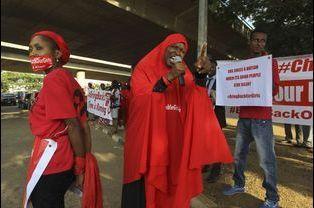 Mobilisation à Abuja, le 1er septembre