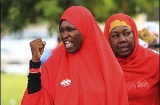 Mobilisation à Abuja, le 2 juillet