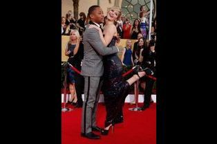 Cuba Gooding Jr. et Jennifer Lawrence