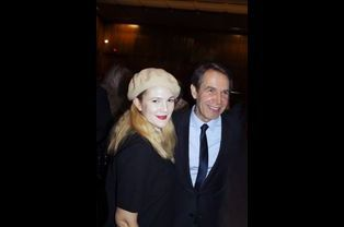 Drew Barrymore et Jeff Koons