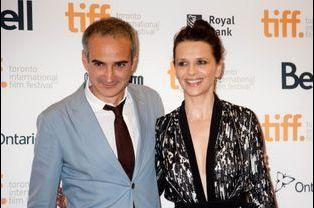 Juliette Binoche et Olivier Assayas