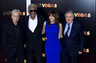 Michael Douglas, Morgan Freeman, Mary Steenburgen et Robert de Niro