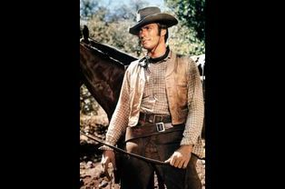 "Clint Eastwood dans ""Rawhide"""