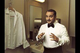 François-Xavier Demaison, le très drôle MC de la soirée.