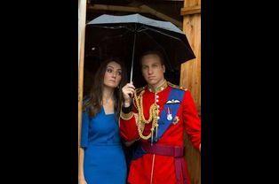 Kate et le prince William font la moue