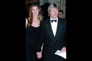 Richard Gere et Cindy Crawford