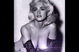 Photo d'archive publiée par Madonna le 16 août 2014