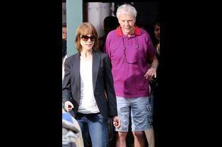 Nicole Kidman et son père à New York, le 4 août 2014.