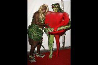 Heidi Klum et Seal, fête d'Halloween 2006, Los Angeles