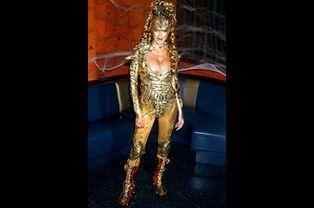 Heidi Klum, fête d'Halloween 2003, New York