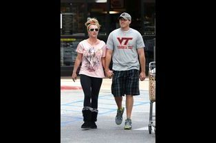 Britney Spears et David Lucado en avril 2013
