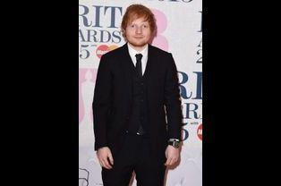 Ed Sheeran à Londres le 25 février 2015