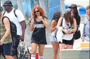 Rihanna à Honolulu le 24 avril 2015