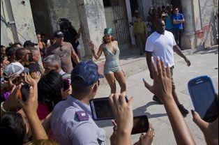 Rihanna à La Havane le 29 mai 2015