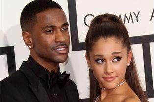 Big Sean et Ariana Grande à Los Angeles le 8 février 2015
