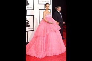 Rihanna à Los Angeles le 8 février 2015