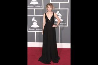 Taylor Swift en Kaufman Franco aux Grammy Awards, en février 2009