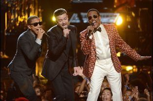Justin Timberlake, Charlie Wilson et Pharrell Williams