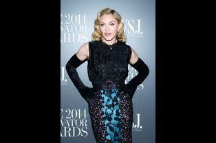 Madonna à New York le 5 novembre 2014