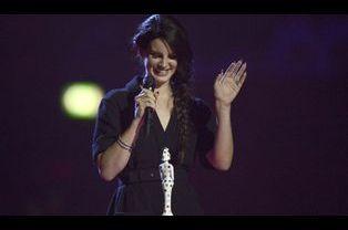 Lana Del Rey, artiste internationale féminine de l'année
