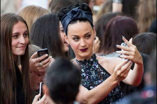 Katy Perry lors de son arrivée aux Aria Awards, Sydney, novembre 2014