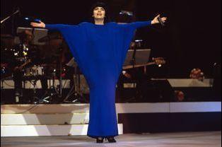 Mireille Mathieu à Berlin Est, le 28 août 1987