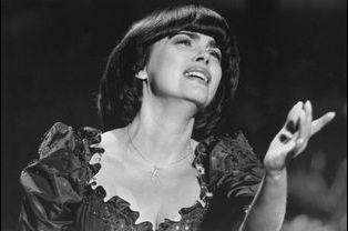 Mireille Mathieu à Dortmund en Allemagne, le 27 août 1983