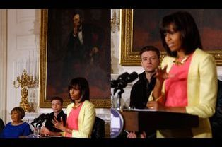 Intervention de Michelle Obama