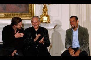 Justin Timberlake, Charlie Musselwhite et Ben Harper