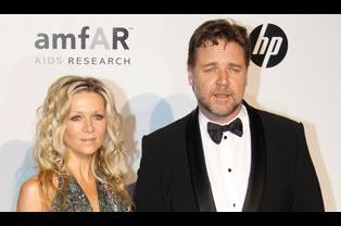 Danielle Spencer et Russell Crowe