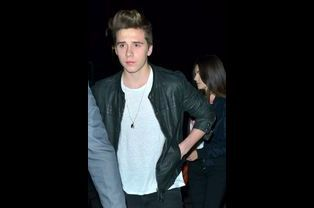 Brooklyn Beckham et Sonia Ben Ammar à Los Angeles le 24 octobre 2015