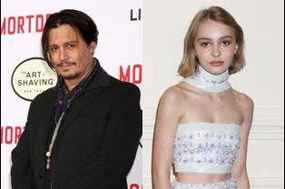 Johnny et Lily-Rose Depp