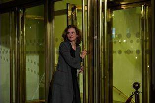 Nathalie Kosciusko-Morizet arrive au 30ème dîner du Crif à Paris, le 23 février 2015
