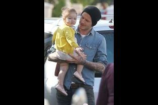 Harper, fille de David et Victoria Beckham