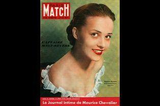 Jeanne Moreau pour la couverture du numéro 45, le 28 janvier 1950