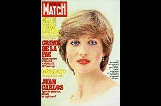 Lady Diana pour la couverture du numéro 1659, le 13 mars 1981