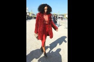 Solange Knowles au défilé Carven