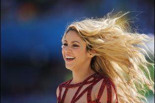 13 - Shakira est suivie par près de 30 millions de followers