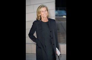 Claire Chazal à l'inauguration de la Fondation Louis Vuitton le 20 octobre 2014 à Paris