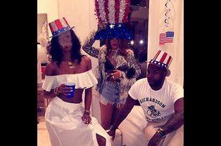 Photo postée par Rihanna pour la fête du 4 juillet