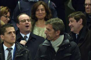 François Hollande et Michel Cymes