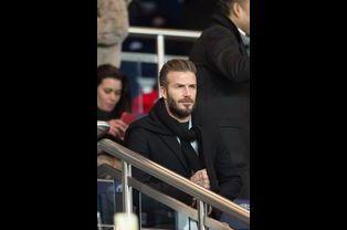 David Beckham à Paris le 17 février 2015