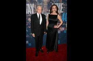 Michael Douglas et Catherine Zeta Jones à New York le 15 février 2015