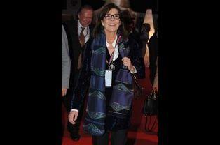 Caroline de Monaco au Gucci Paris Masters à Paris, le 6 décembre 2014